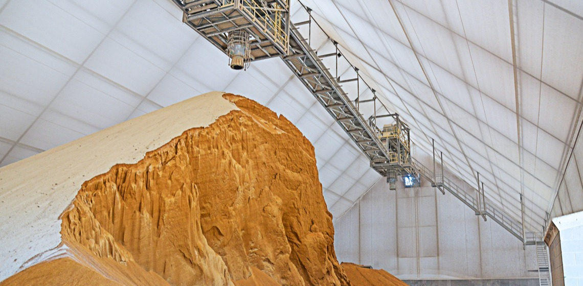 Smithfield Bulk Feed Storage Structure