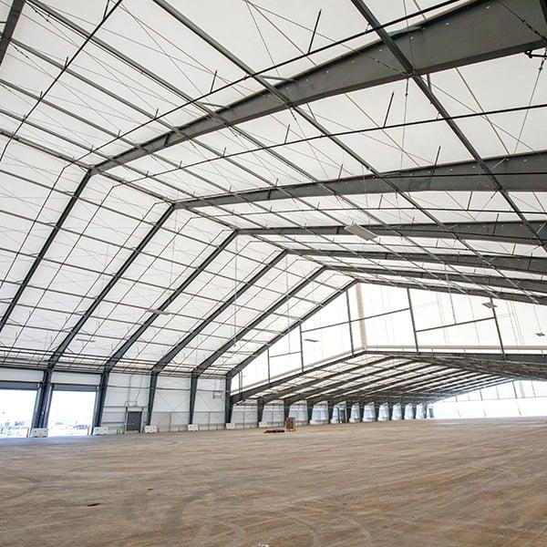 fabric building interior