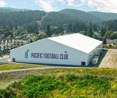 professional soccer facility