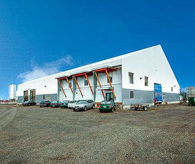 fabric biomethane building