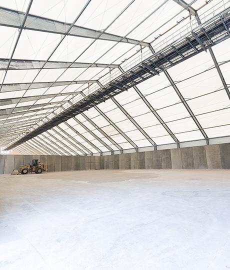 fabric bulk feed storage