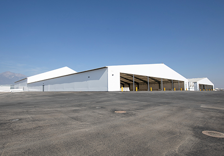 airport cargo facility