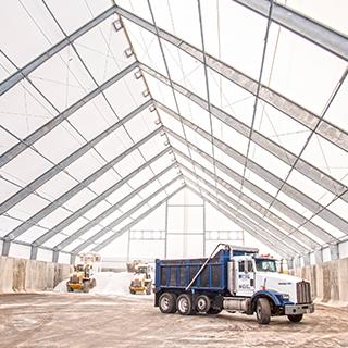 salt storage facility
