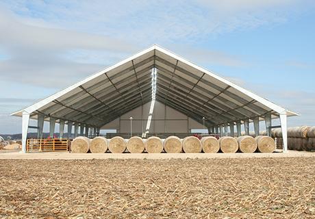 fabric hay storage