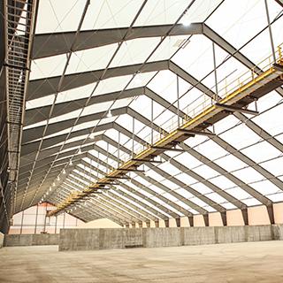 bulk storage building