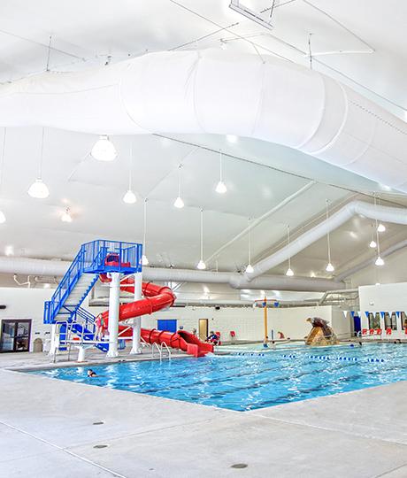 indoor aquatic center