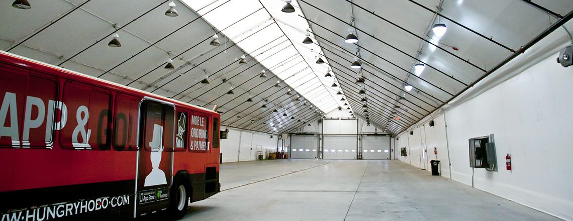 fabric maintenance garage