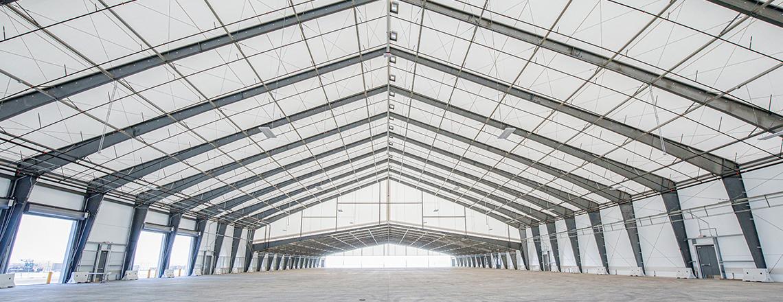 cargo logistics facility