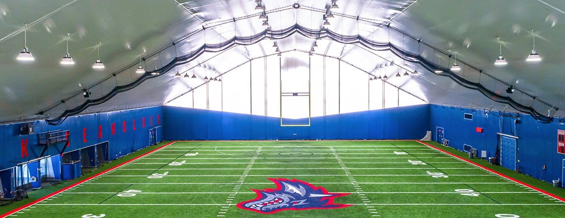 college athletic facility