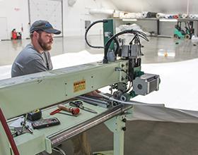 fabric panel manufacturing