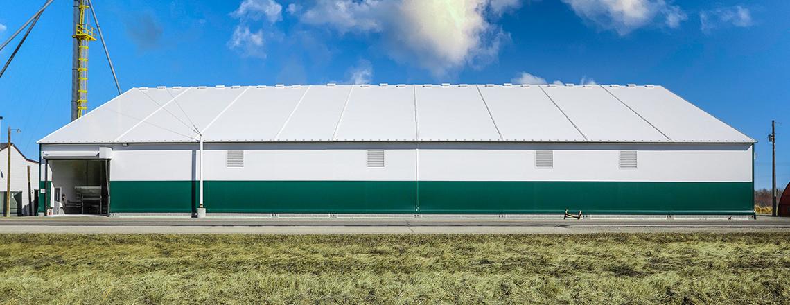 fabric building sidewall options