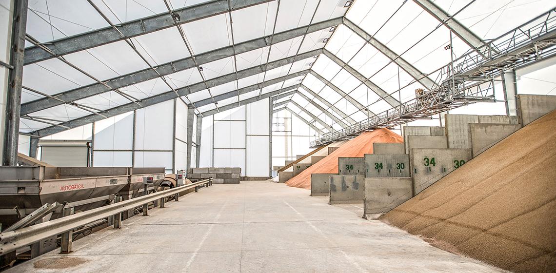 Agriland FS Woodbine Fertilizer Storage