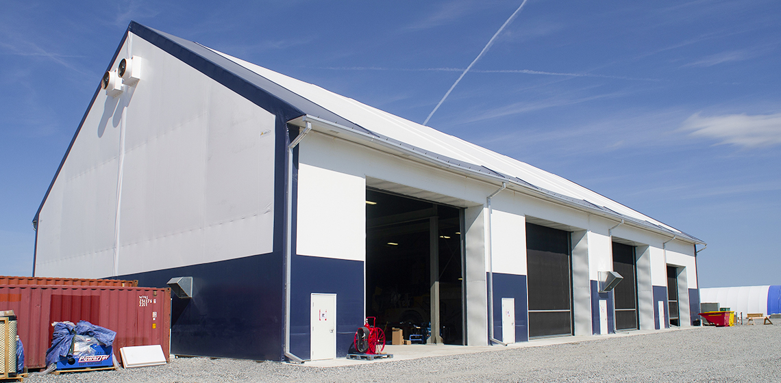 BBE Hydro Vehicle Maintenance and Warehouse Buildings