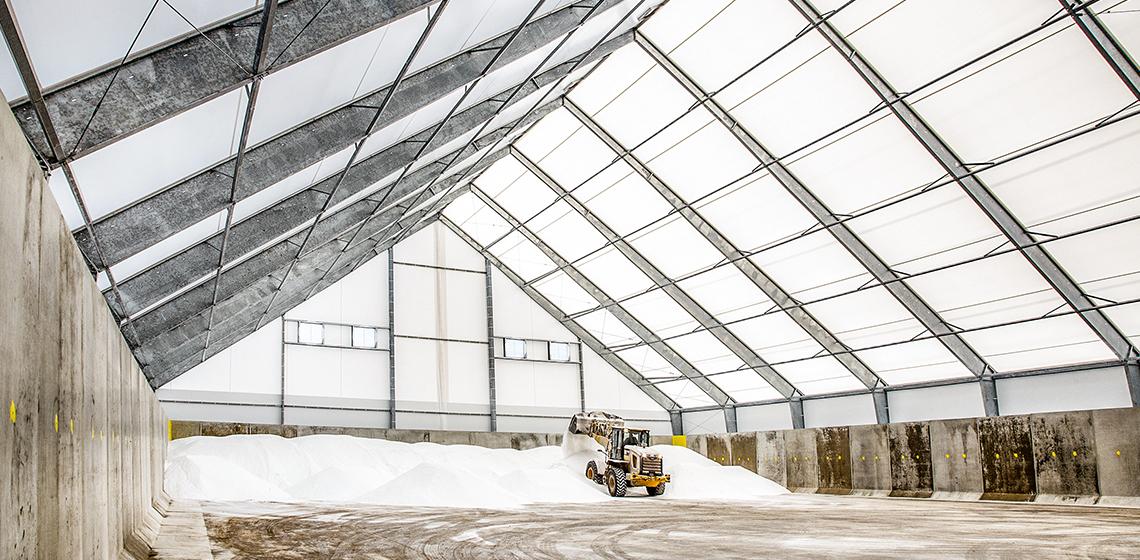 Gunther Salt Company Salt Storage Building