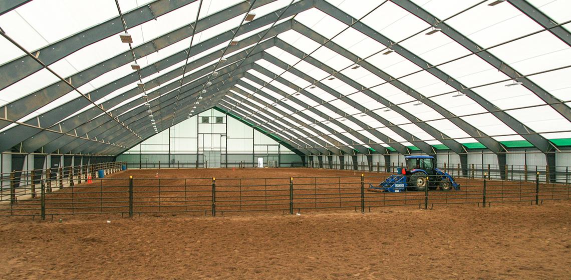 Kuka Equestrian Center Riding Arena and Barn