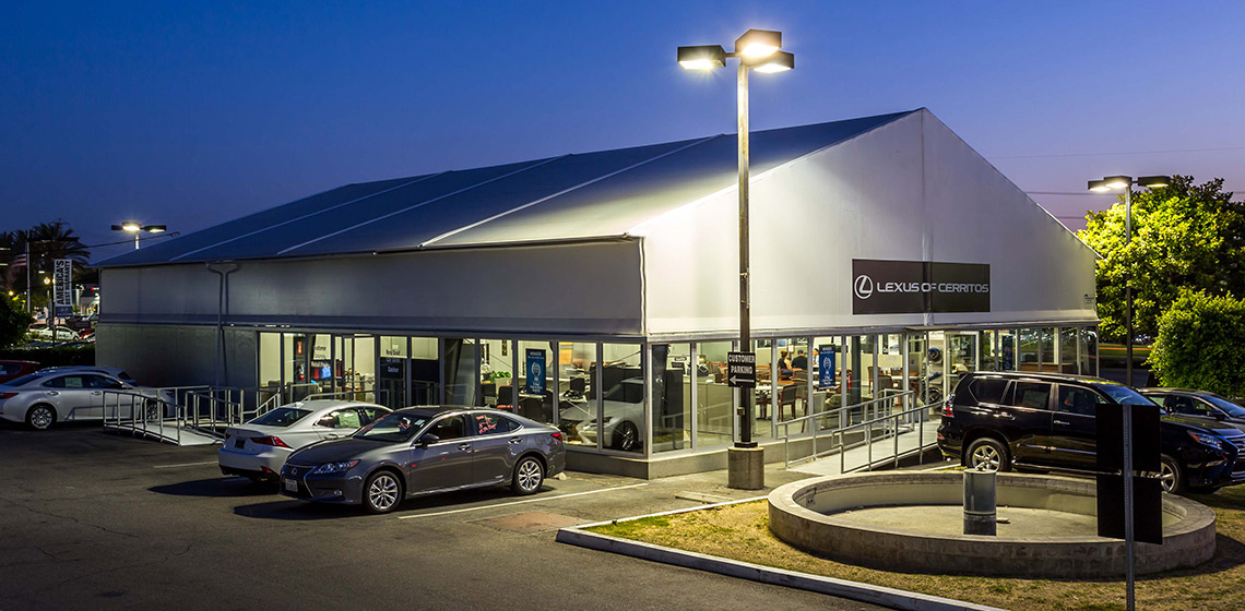 Luxury Automotive Showroom and Offices