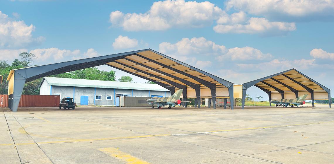 Montgomery Ventures Aviation Hangars