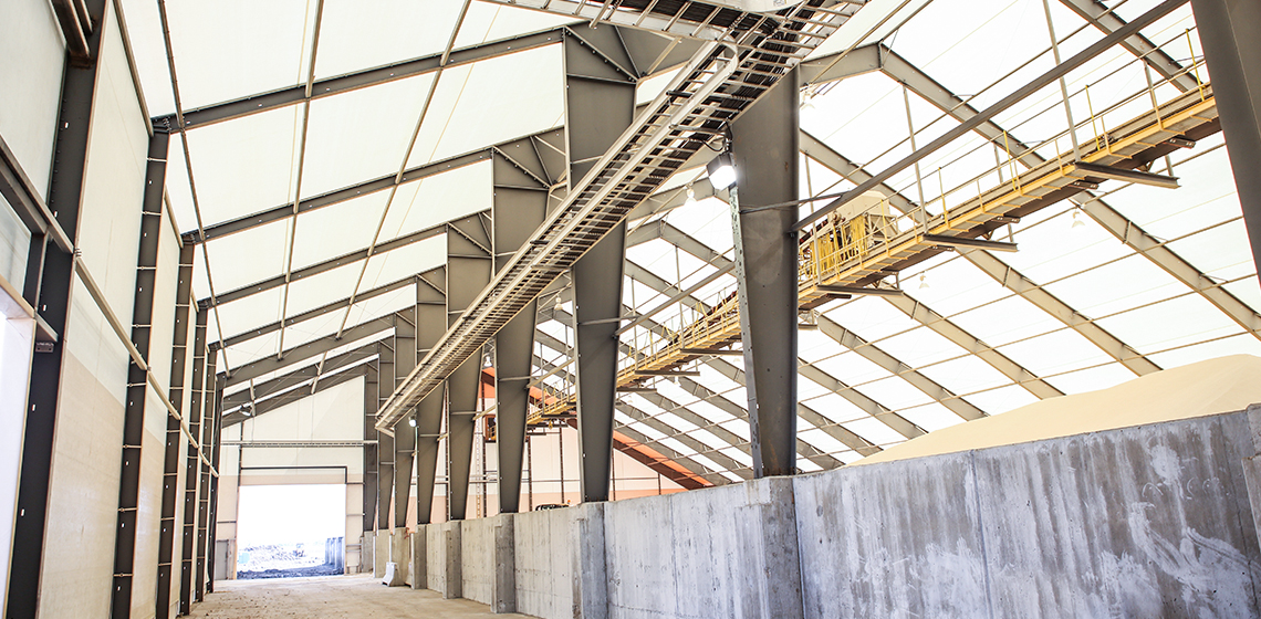 Frac Sand Storage Building