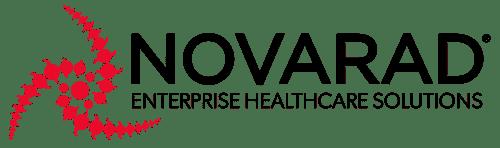 Novarad HEI Logo 2017 Red Swirl Black Text