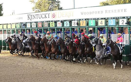 Success at the 146th Kentucky Derby - race started by Steriline Racing