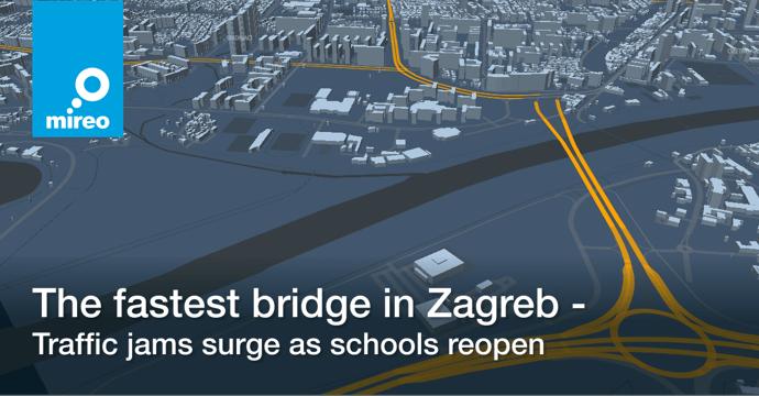 The fastest bridge in Zagreb - Traffic jams surge as schools reopen
