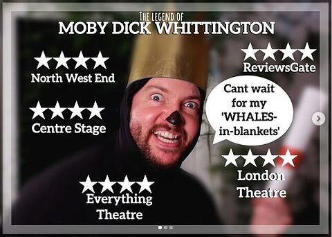 The Legend of Moby Dick Whittington