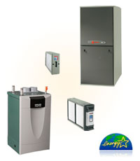 Bornstein Sons installs the finest heating equipment and services all major brands of heating systems