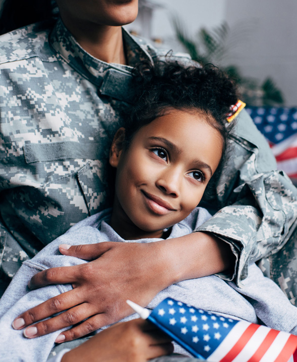 FGS-Allegiance-MortgagesLittle girl with American flag