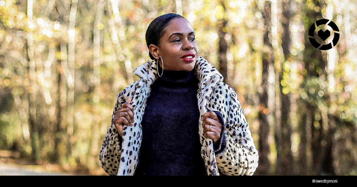 Stylish woman outdoor in winter coat
