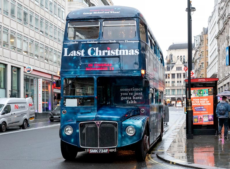 Last Christmas Routemaster Movie Launch