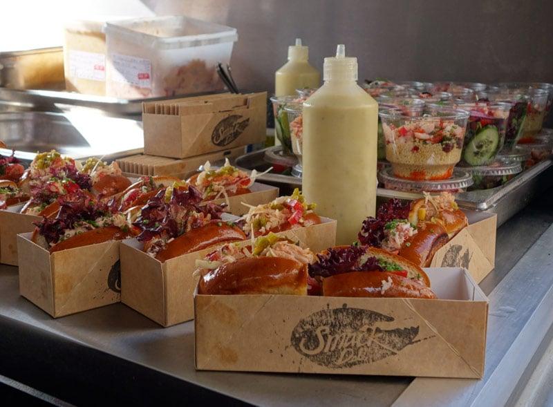 Burger and Lobster food sampling activation