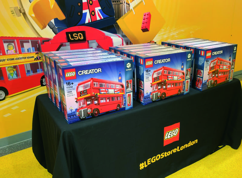 Lego Product Launch