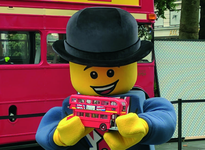 Lego Bus Hire
