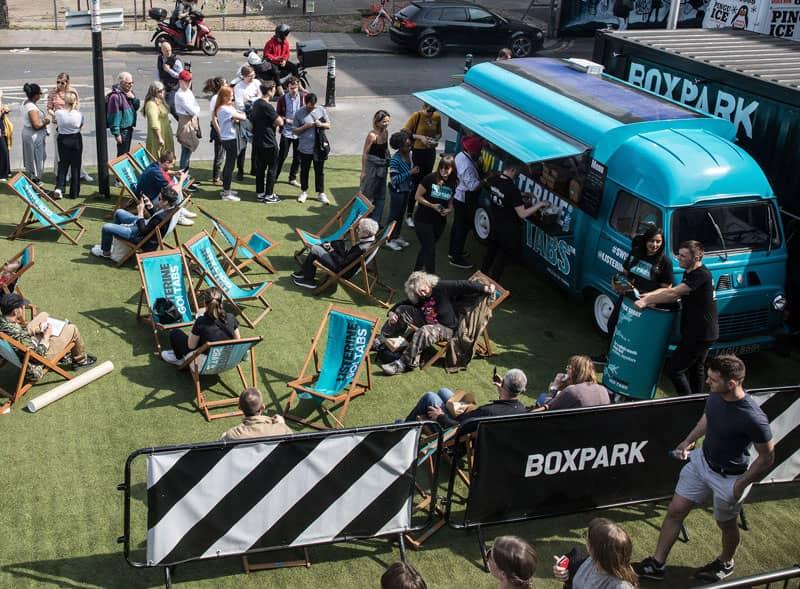 Estaffe Food Truck Hire London