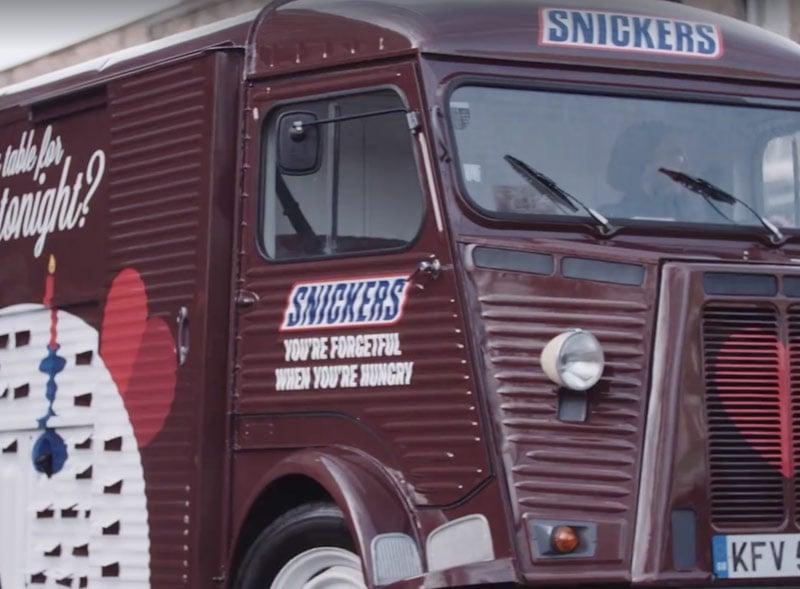 Snickers H Van