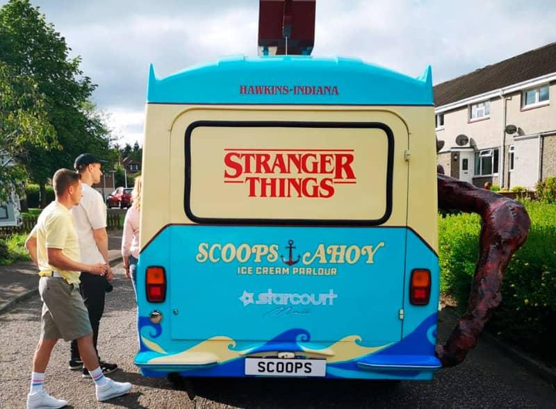 Back Stranger Things Van Hire