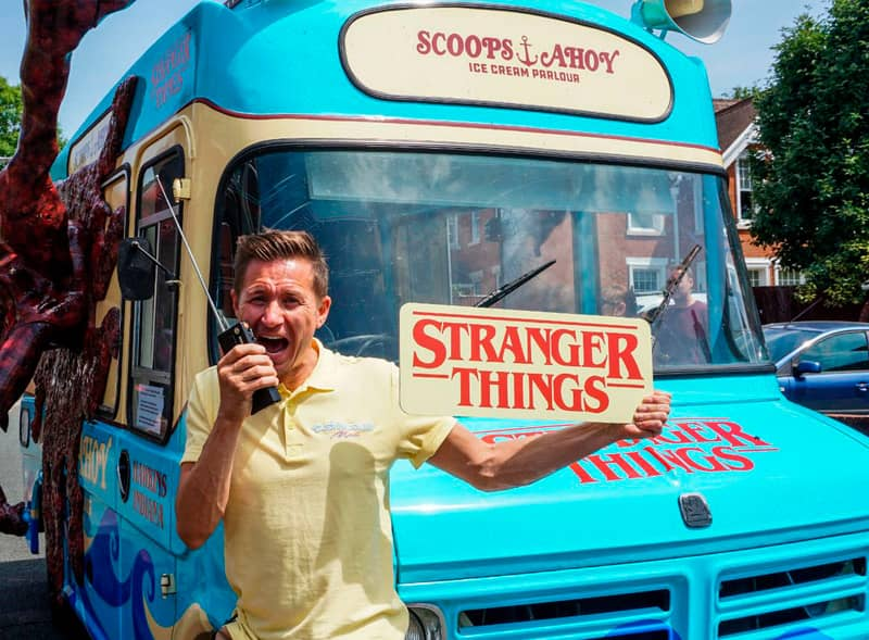 Stranger Things Ice Cream Van Hire