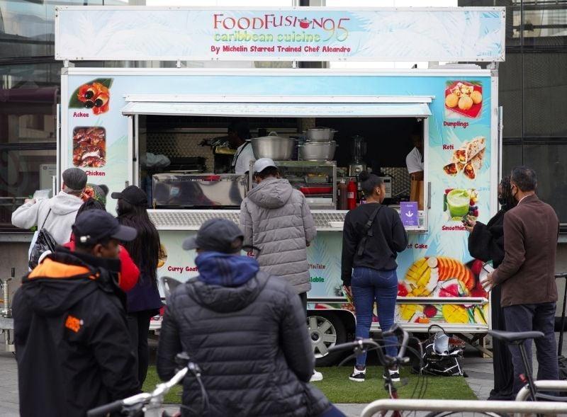 Food Fusion custom-built trailer