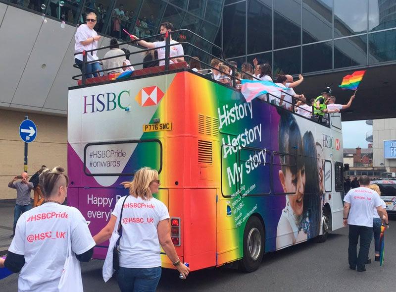 HSBC Promotional Open Top Bus Tour