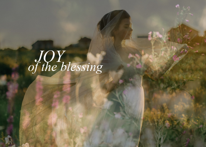 Joy of the Blessing   May Monthly Blog