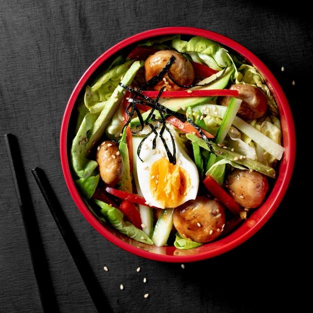 Oshi dashii salade