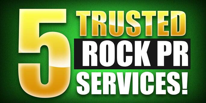Top 5 Rock Music PR Companies (Most Trusted!)
