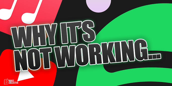 Why Music Promotion Isn't Working For You