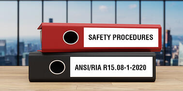 Safety standard binders including ANSI/RIA R15.08-1-2020