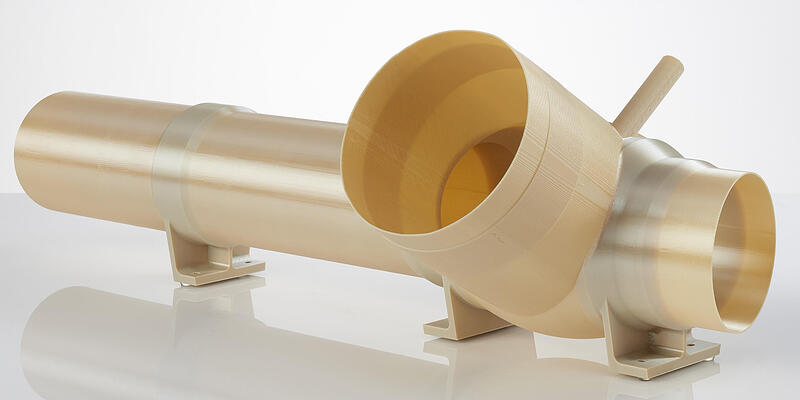 Ultem 9085 aerospace 3D printed ULA vent