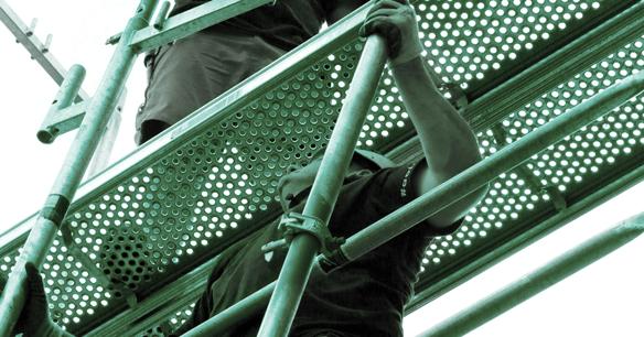Ergonomie auf der Baustelle: Tipps für Arbeitserleichterung im Gerüst