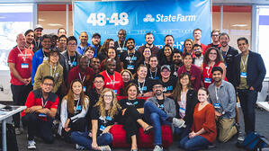 25 Nonprofits provided new websites through 48in48 Event at Bottle Rocket