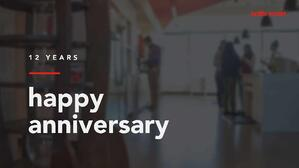 A Letter from our Founder & CEO on the Eve of our 12th Anniversary