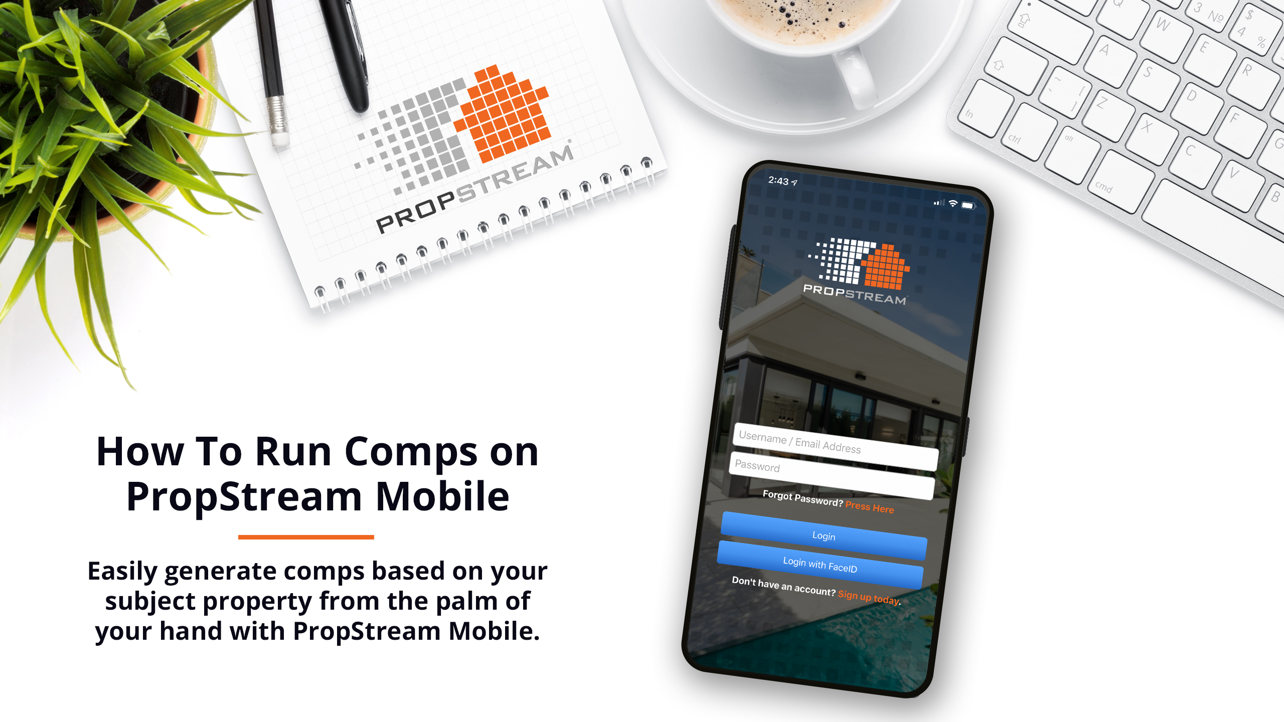 How To Run Comps On PropStream Mobile
