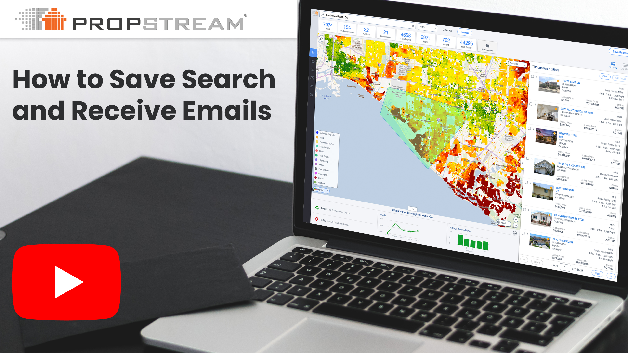 How to Save Search and Receive Emails